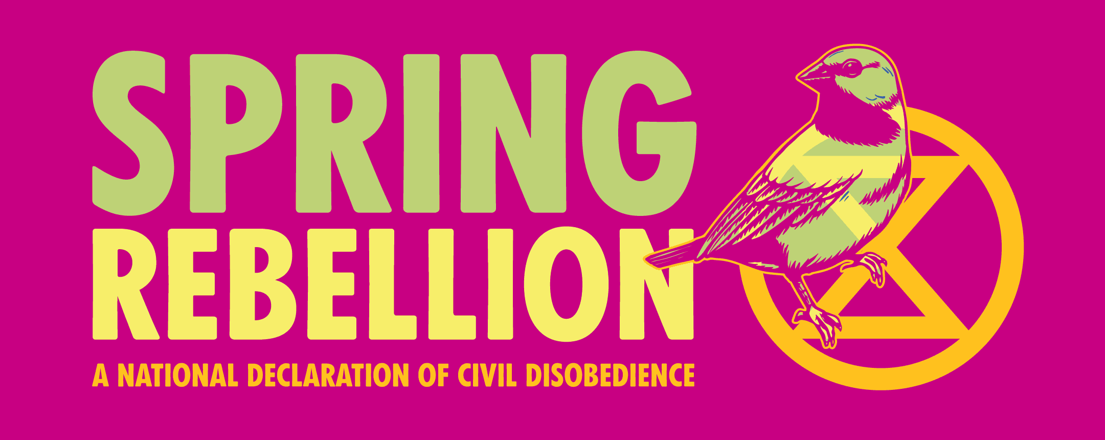 Spring Rebellion – A national declaration of civil disobedience