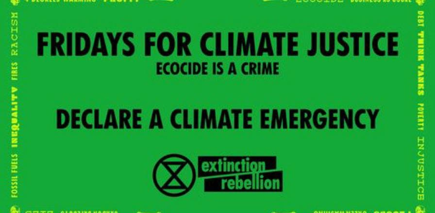 "With Covid restriction come join us for Fridays for Climate Justice ""walkin' the streets', every week. As we are outdoors, we can and will observe the physical distancing  Please come prepared to observe these public health measures, and we shall save our hugs for future gatherings :)  In Australia, where the climate emergency declaration mobilisation and petition was launched in May 2016, over 60 jurisdictions representing roughly 6 million people – a quarter of the population – have declared a climate emergency, including the government of the Australian Capital Territory, based in the capital Canberra, and South Australia's Upper House.   https://climateemergencydeclaration.org/climate-emergency-declarations-cover-15-million-citizens/  Every Friday 5:00pm - 6:00pm. D'Arcy Doyle Place next to St Pauls Anglican Church Ipswich.  Please note : With regard to Covid-19 XR will be compliant with gatherings.Thank you for your understanding in times of the Coronavirus.  https://www.stopecocide.earth Stop Ecocide Change the Law Respect existence or expect resistance. https://rebellion.earth #RebelForLife #TellTheTruth #ActNow #ExtinctionRebellion"