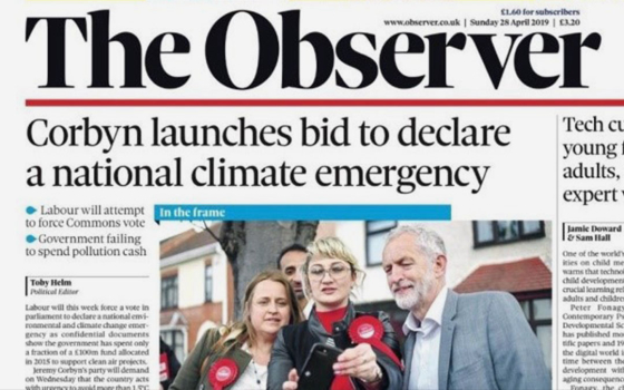 Climate Emergency declarations: the successes of the XR UK movement