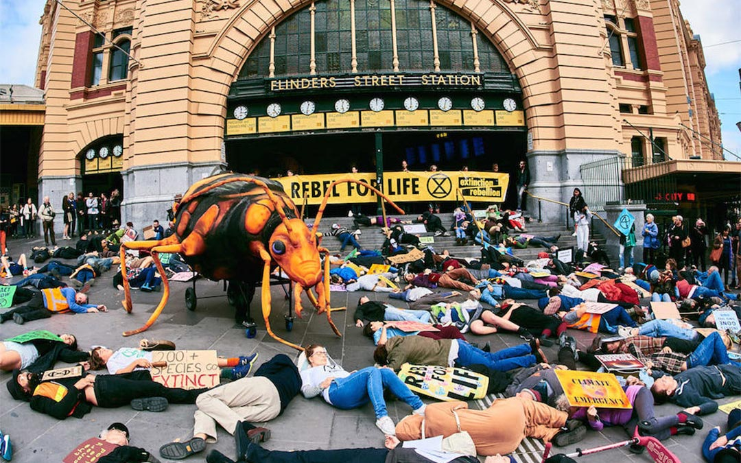 Operation Time's Up! Melbourne Die-In